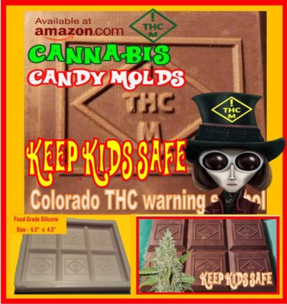 marijuana candy mold