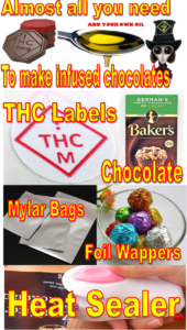 Marijuana / Pot / Cannabis candy chocolate wafer mold - Medical Marijuana THC safety symbol  Marijuana / Pot / Cannabis candy chocolate wafer mold - Medical Marijuana THC safety symbol